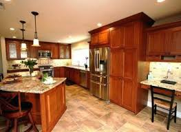 Kitchen Cabinet Cherry Cherry Cabinet Kitchen With Two Tone Cabinets Kitchen Traditional