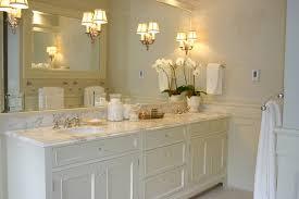 Bathroom Cabinets To Go Ivory Double Vanity Transitional Bathroom Graciela Rutkowski