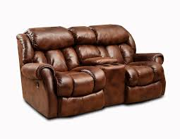 Rocking Reclining Loveseat With Console Fire Station Outfitters