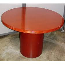 Keswick Conference Table Wood Round Conference Table New U0026 Used Office Furniture Dallas Tx