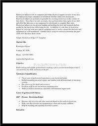 Electrician Resume Template Free Search Results For Electrician Resume Calendar 2015 Construction