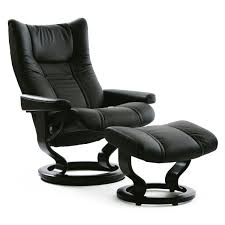 stressless wing large recliner u0026 ottoman from 2 495 00 by