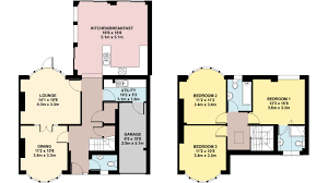 colour floor plan ben williams home design and architectural