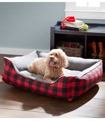 Ll Bean Dog Bed Everydog Couch Bed Plaid