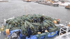 coast guard christmas tree ship docks in chicago mi news 26