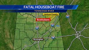 Tennessee River Map Elderly Couple And Their Dog Killed In Houseboat Fire At Marina On