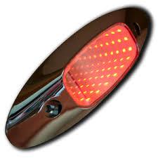 red led marker lights 3d red piranha tunnel style led marker light