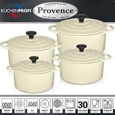 pot en fonte küchenprofi provence round french oven creme cookfunky