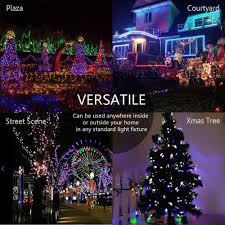 solar christmas lights solarmks 72ft 200 led string lights solar