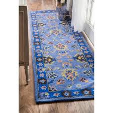 Blue Runner Rug 7 Best Shaggy Rugs Images On Pinterest Area Rugs Kilim Rugs And
