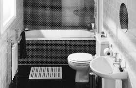 black tile bathroom ideas these two tiles are for whatever your bathroom tile