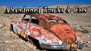 Classic Ford Truck Junk Yards - abandoned old cars and rusty trucks abandoned junkyard cars