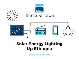 Solar Energy Lighting - delagua library solar energy lighting up ethiopia