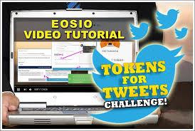 Challenge Tutorial Beyondbitcoin Tweet Tokens4tweets Challenge Eos Io