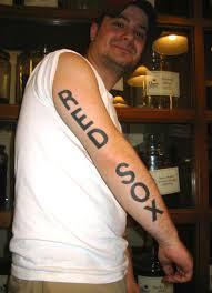 tattoos designs boston sox tattoos