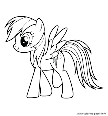 my little pony coloring pages of rainbow dash precision all about coloring