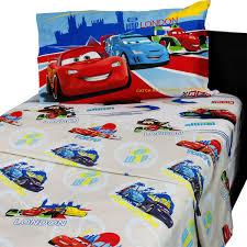 Disney Bedroom Collection by Disney Cars Bedding Track Burn Comforter Sheet Set Obedding Com