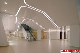barrisol light lighting strech ceiling stretch archipro