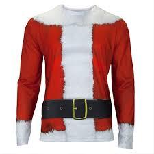 santa suit faux real santa suit costume sleeve t shirt sun sentinel store