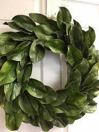 Magnolia Leaf Wreath The 25 Best Faux Magnolia Wreath Ideas On Pinterest Fixer Upper