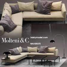 livingroom sofas molteni sofa paul maxbrute models 3dsmax the best of funiture