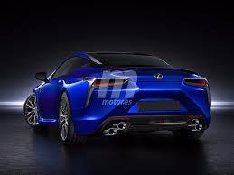 nuevo lexus lf lc habrá un lexus lc f previsto para 2019 así será su diseño motor es