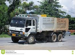 truck mitsubishi fuso old private mitsubishi fuso dump truck editorial photography