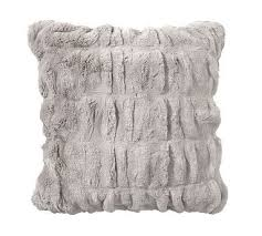 Pottery Barn Faux Fur Pillow 209 Best Pillows U003e Solid Pillows Images On Pinterest Pillow