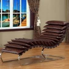 Chaise Lounge Leather Leather Chaise Lounge Chairs Foter