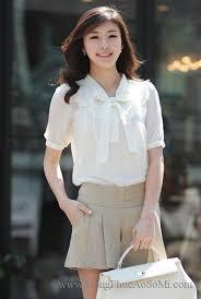 ao nu dep những mẫu đồng phục áo sơ mi nữ đẹp cho mùa hè năm nay