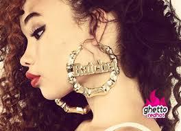 black girl earrings you ratchet girl hot