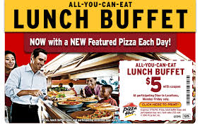 Pizza Hut Buffet Near Me by Pizza Hut 5 Lunch Buffet Coupon Expires July 15 Al Com