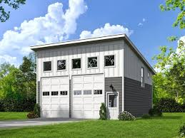 modern garage plans two car garage plans unique 2 car garage plan with loft offers