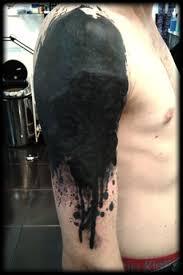 tribal cover up of dooooooom enjoy tattoos