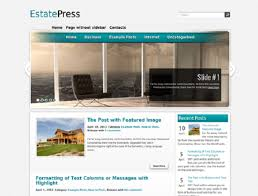 awesome free real estate wordpress themes wp crash