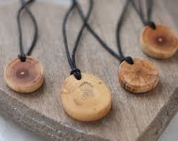 wooden necklaces wooden pendant etsy