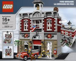 minecraft fire truck lego builds lego 10197 modular building fire brigade ibrickcity