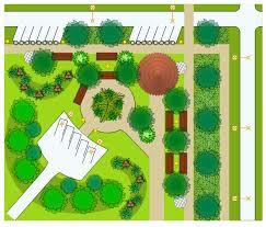 site plan park site plan