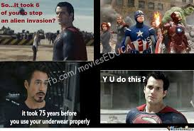 Man Of Steel Meme - man of steel l by luffy strawhat 79 meme center