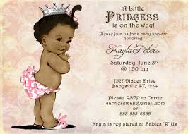african american baby shower invitations template best template