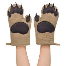gants cuisine gants de cuisine pattes d ours ideecadeau fr