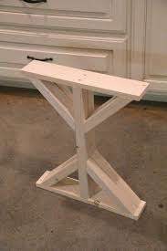 Diy Wood Desk Diy Wood Desk Plans Table Bases Bar Tables Enchanting Snapshot