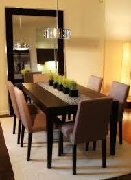 Black Dining Room Furniture 25 Elegant Dining Table Centerpiece Ideas Mirror Centerpiece