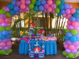 Mermaid Decorations For Party Best 25 Little Mermaid Balloon Decorations Ideas On Pinterest