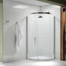 Merlin Shower Doors Series 10 Right Single Door 800mm Quadrant Shower Enclosure