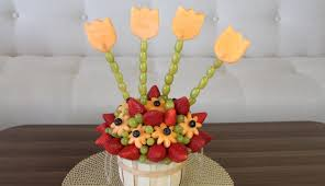 diy edible fruit arrangement youtube