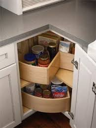 kitchen corner storage ideas corner kitchen cabinet susan storage solution one day