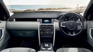 new land rover interior explore the new discovery sport mid size suv land rover