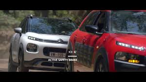 2017 citroen c3 aircross driving aids youtube