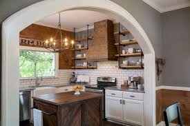 Kitchen And Living Room Designs Kitchen Makeover Ideas From Fixer Upper Hgtv U0027s Fixer Upper With